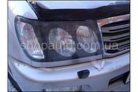 Toyota Land Cruiser 100 2005-2006 защита фар карбон