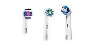 Насадки для зубной щетки ORAL-B 3 шт. (3D-White, Cross Action , Precision Clean)