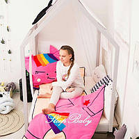 Слипик с разъемной молнией «Пони» (спальный мешок) для детей  Sleep Baby 120x60, фото 1