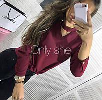 Женская блуза из шелка