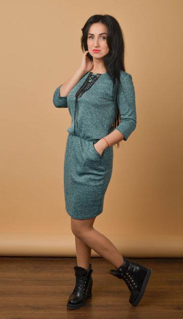 410f5340ca6 Стильное женское платье из Ангоры (размер 44-50)  продажа