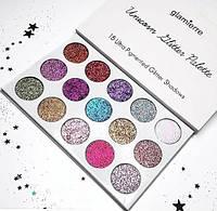 Глитерные тени для век Glamierre Unicorn Glitter Palette (реплика)