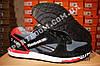 Кроссовки Reebok GL 6000 Black Gray Red Серые мужские, фото 6