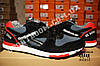 Кроссовки Reebok GL 6000 Black Gray Red Серые мужские, фото 7