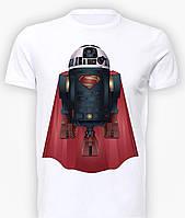 Футболка мужская размер L GeekLand Супермен Superman R2-D2 SU.01.005