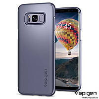 Чехол Spigen для Samsung S8 Plus Thin Fit, Orchid Gray, фото 1