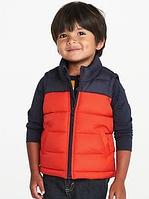 Жилет Old Navy (США) сине-красный для мальчика от 1 до 5 лет