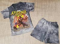 Костюм футболка и шорты для мальчика 28-36 р Спайдермен