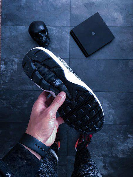 size 40 b6d77 66572 ... Женские кроссовки Nike Wmns Air Max 95 Premium Safari Pack (cream white  / black)