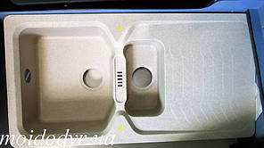 Мойка кухонная гранитная Franke  Bahia BAG 651 avena