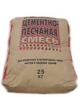 Цементно Песчанная Смесь  25 кг