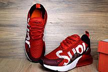 Кроссовки женские беговые Nike Air Max 270, красные, материал - текстиль, подошва - пена, фото 2