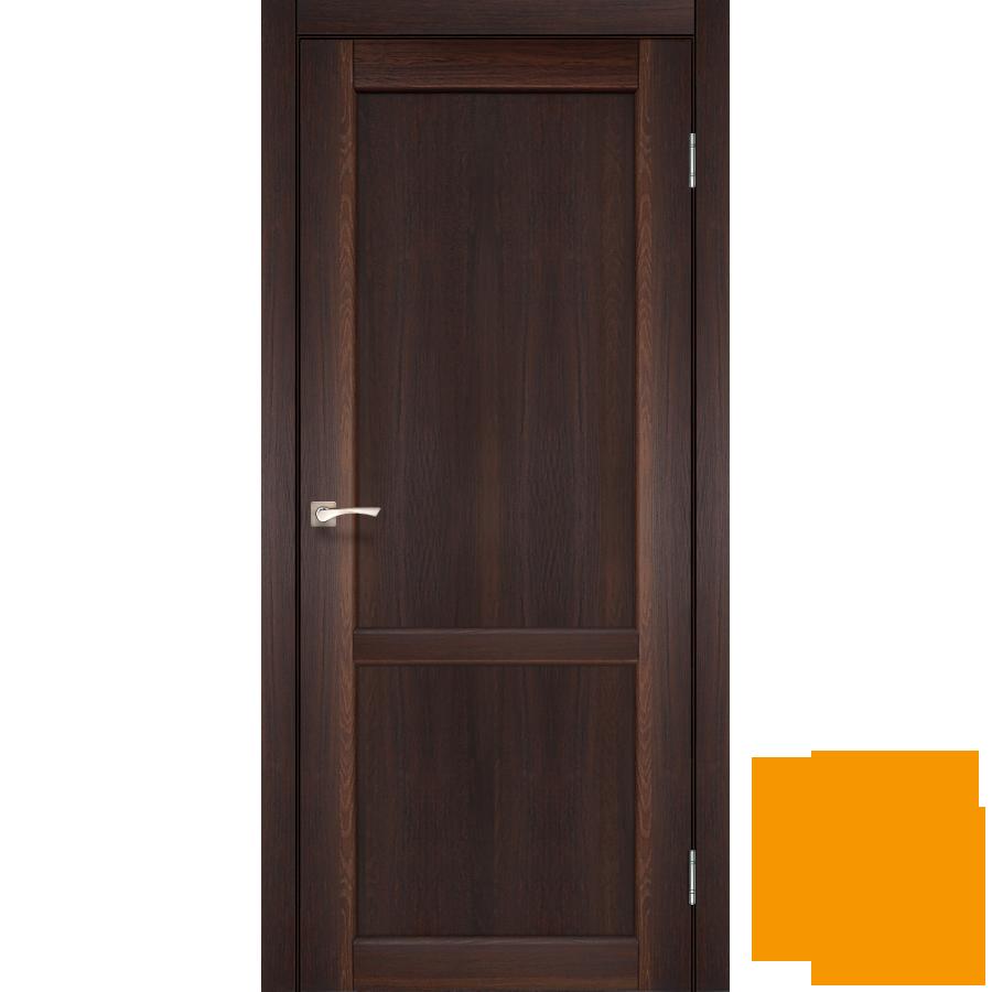 """Межкомнатная дверь коллекции """"Palermo"""" PL-01 (орех)"""