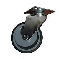 Колесо в поворотном кронштейне на площадке50 мм, 75мм, 100мм