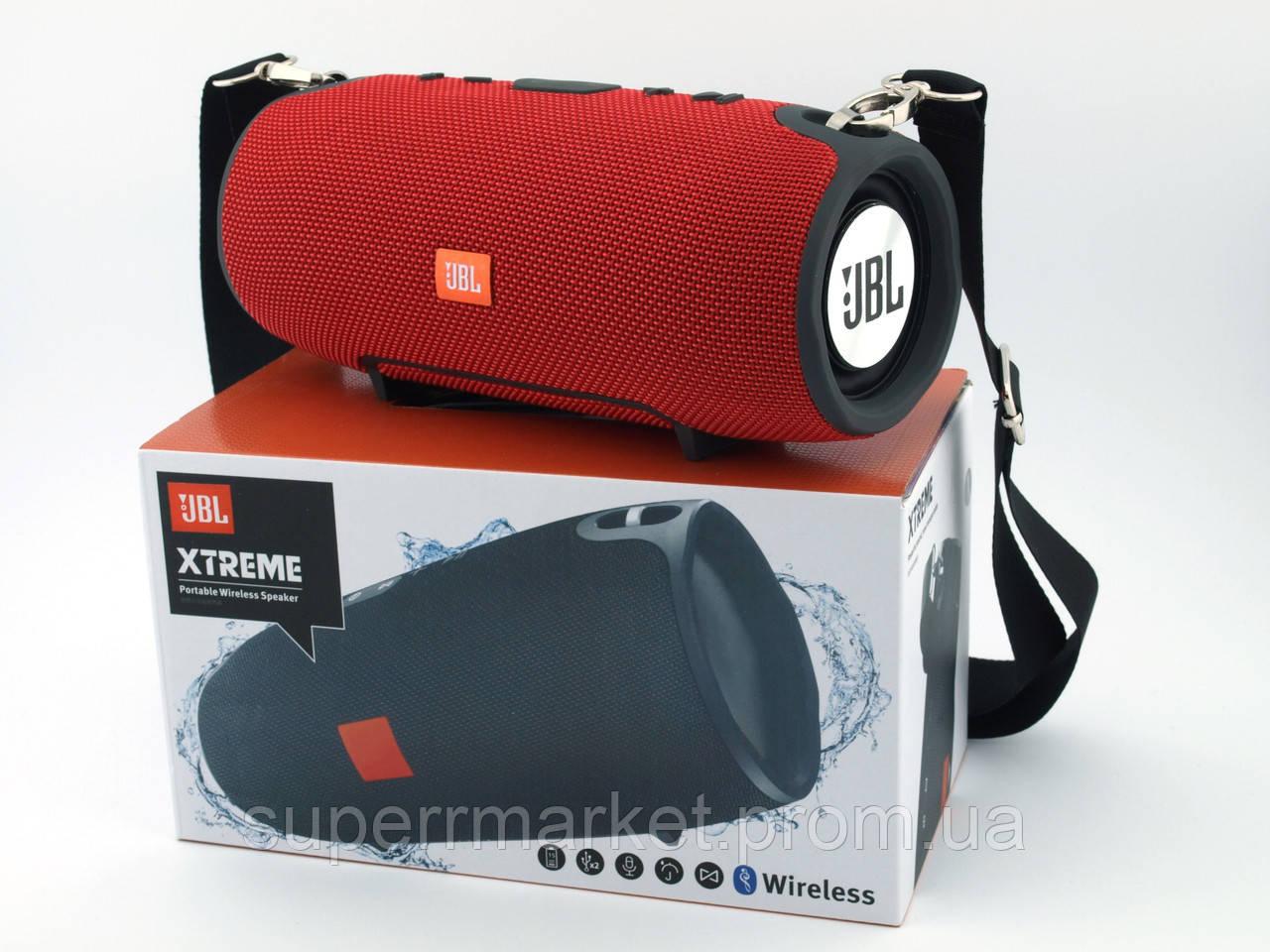 JBL XTREME 13 small портативная колонка 40W с Bluetooth FM MP3 копия, красная