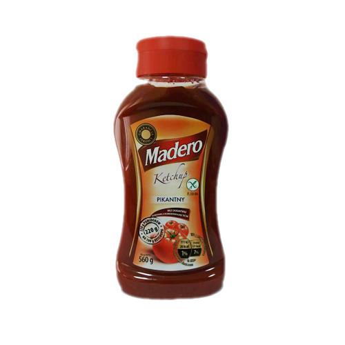 Madero pikantny кетчуп пікантний 560 гр.