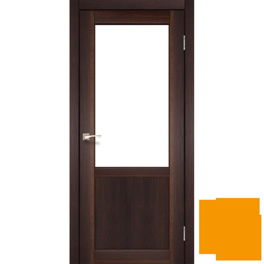 """Межкомнатная дверь коллекции """"Palermo"""" PL-02 (орех)"""