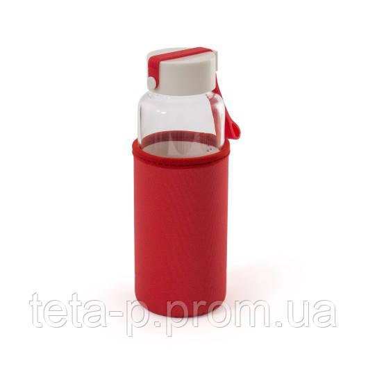 Бутылка для воды и напитков стеклянная MILLENNIUM 450 мл