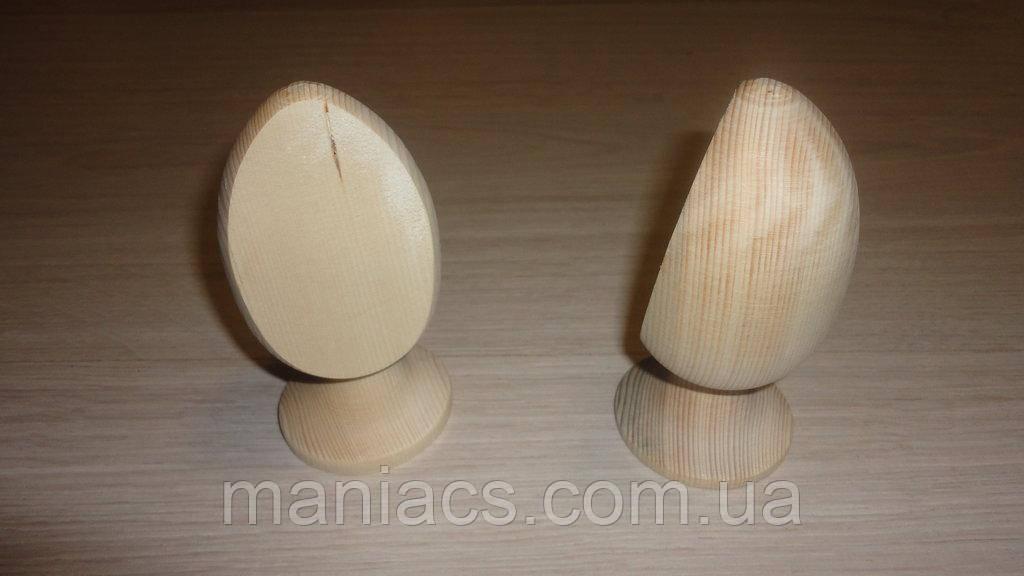 Дерев'яне яйце зі зрізом