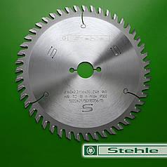 Дисковые пилы по дереву  Stehle 160х2,2х1,6х20 z=48 для торцовки и косого реза
