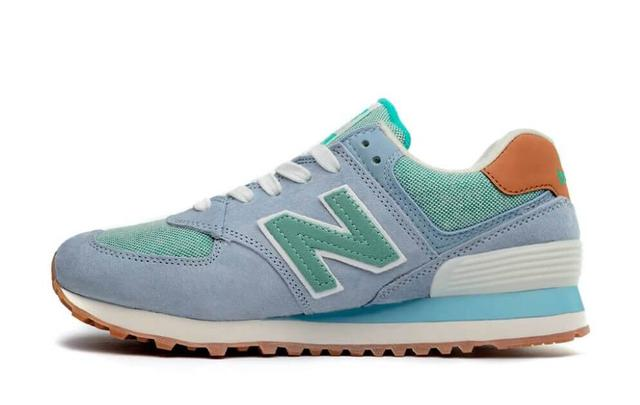 New Balance 574 Blue Mint