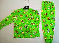 Пижама хлопковая на пуговицах 92-122 см