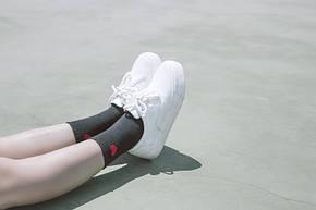 Носки Сердце Cotton Sox - Низкие - черные, фото 2