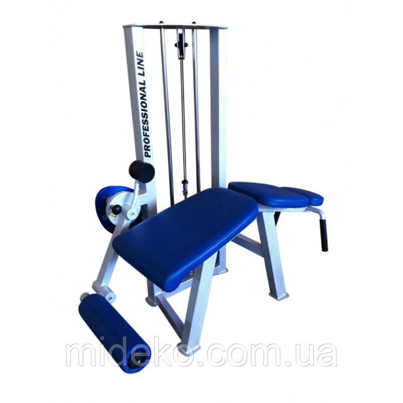 Тренажер для мышц сгибателей бедра, лежа