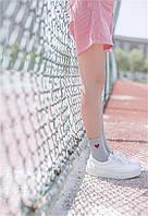 Носки Сердце Cotton Sox - Низкие - серые