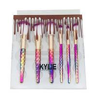 Набор кистей Kylie цветные (6 шт.), фото 1