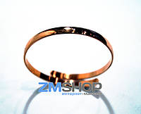Медный браслет Спираль MB062
