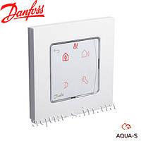 Термостат комнатный Danfoss Icon Programmable (230 В) встраиваемый программируемый (088U1020)