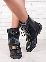 "Ботинки кожаные женские ""Galaxy"" 6145-28"