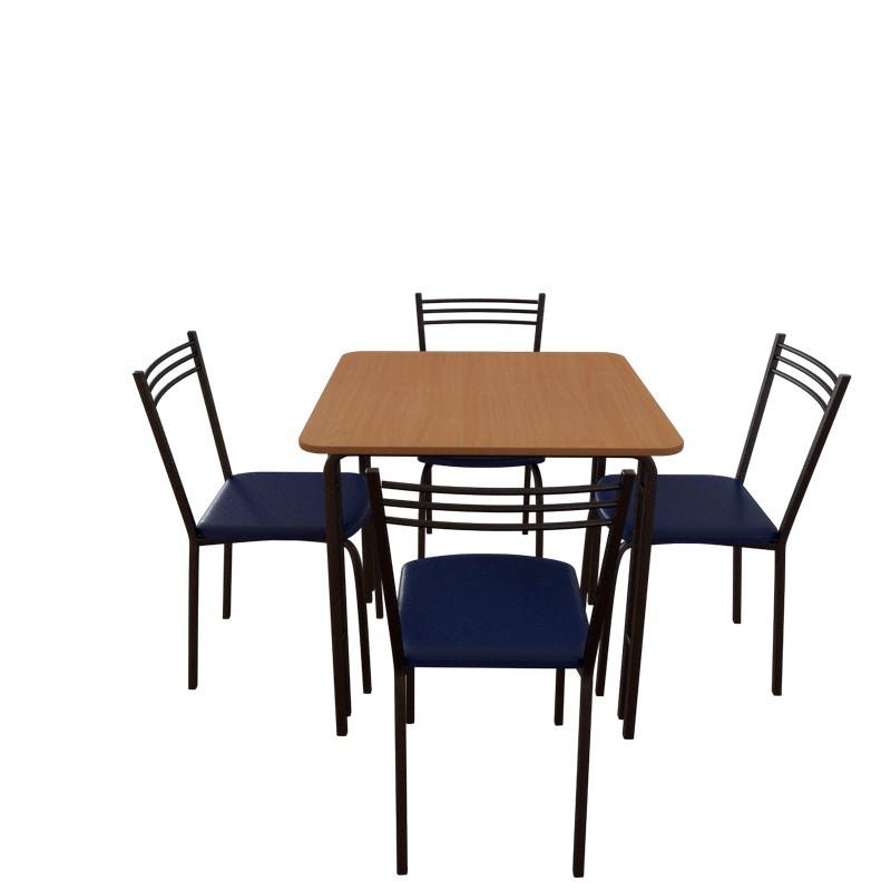 Комплект мебели для кафе: стол Лира + 4 стула Лада