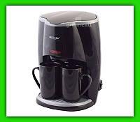 Кофеварка Livstar LSU 1190 650W 2 чашки Черный Белый, фото 1