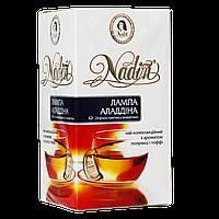 """Чай пакетированный NADIN  """"Лампа Аладдіна """" 24шт  купаж зеленого и черного"""