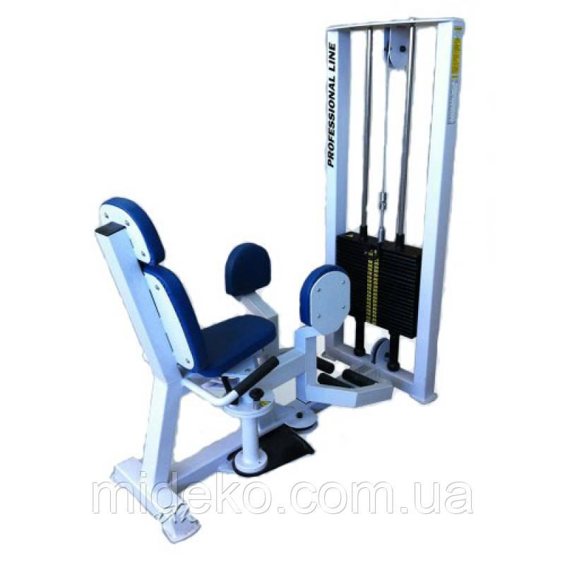 Тренажер для отводящих мышц бедра (разведение ног), стек 85 кг