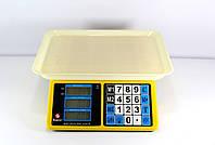 Весы ACS 40kg/5g MS 266 Domotec 4V, Торговые весы, Электронные весы, Весы до 49 кг, Аккумуляторные весы