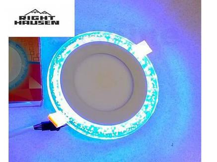 Встраиваемый точечный светильник 6W со светодиодной подсветкой 3w Bubble Right Hausen, фото 2
