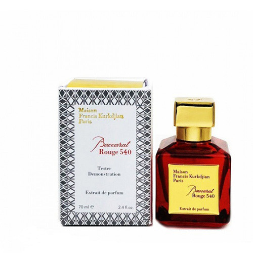 Maison Francis Kurkdjian Baccarat Rouge 540 Extrait De Parfum 70 мл TESTER унисекс