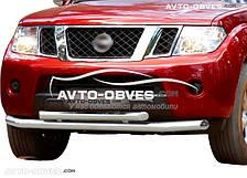Защитная дуга Nissan Pathfinder 2005-2010 двойной ус (пр. Украина)