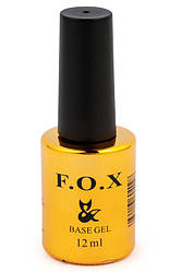Базовое покрытие для ногтей FOX Base Rubber, 12 ml