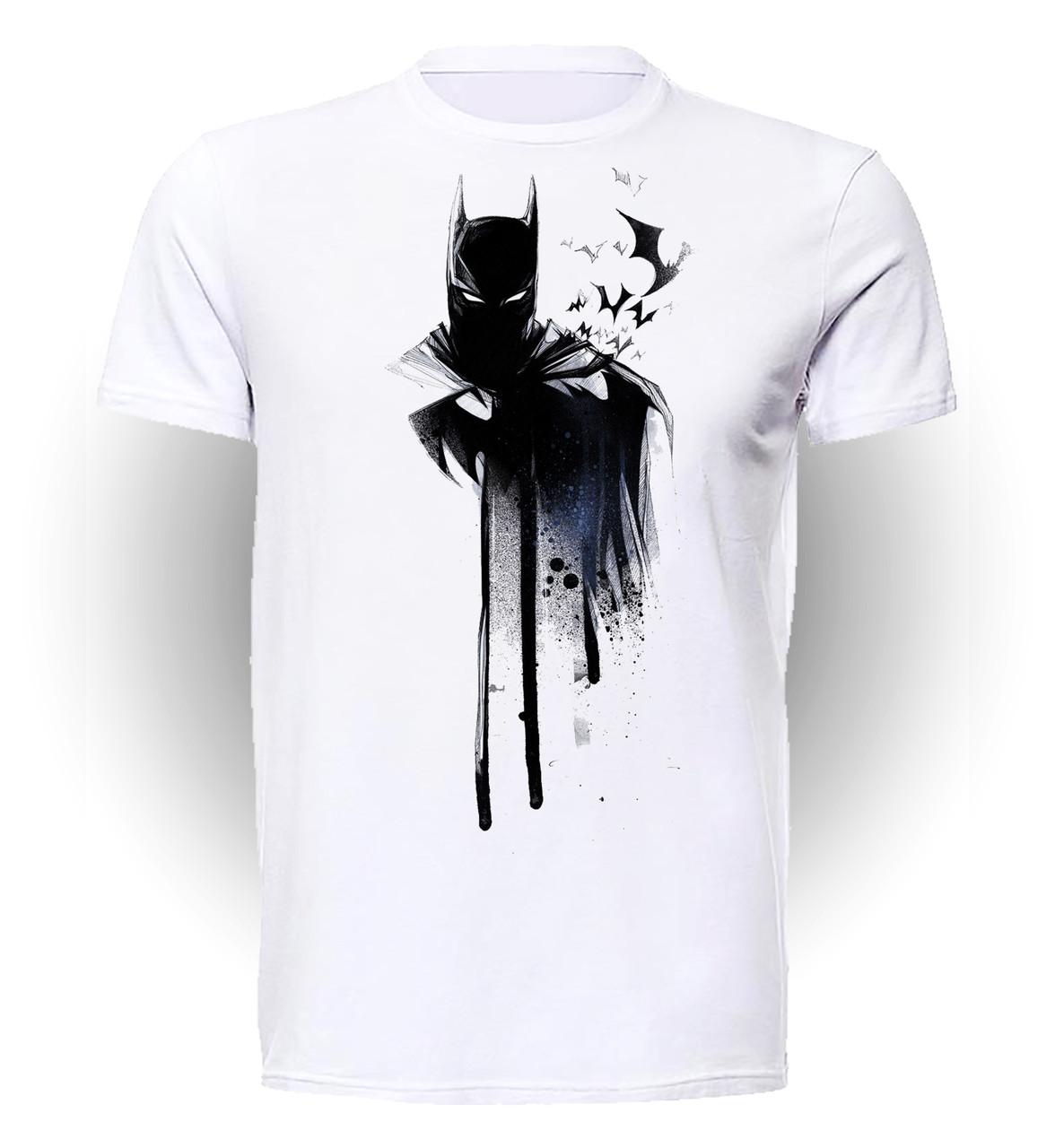 Футболка GeekLand Бэтмен Batman paint BM.01.074