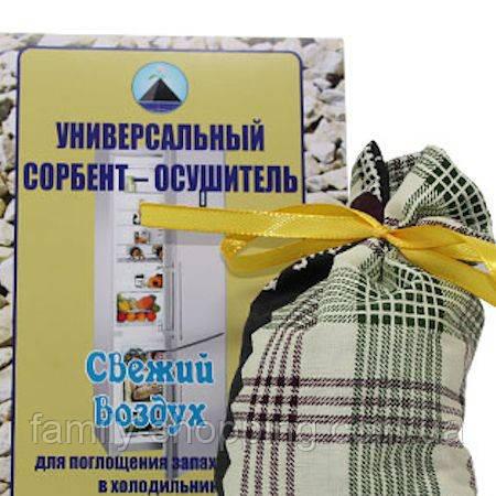 Универсальный дезодорант-осушитель для холодильника, 200 г