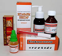 Витафарм-Нектар (вітаміни А, Д3 , Е, С, групи В)