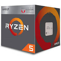 Процессор AMD Ryzen 5 2400G (YD2400C5FBBOX)