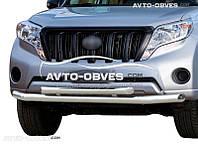 Защита переднего бампера Toyota Prado 150 2014-2018 двойной ус (пр. Украина) 89a83fc0ffe
