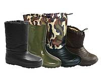 Ботинки и сапоги утепленные мужские