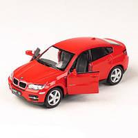 Детская игрушка для мальчиков инерционная машина металлическая 5336 KINSMART BMW X6 (Кинсмарт БМВ Х 6)
