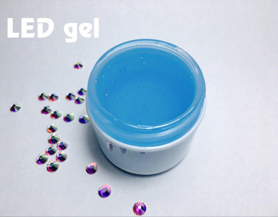 Гель LED Blue, 30 мл.